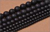 マットオニキス (ブラックオニキス) 丸玉 4mm〜12mm ラウンドカット 天然石 卸売