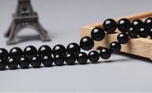 画像2: ブラックトルマリン ショールトルマリン 4mm〜12mm パワーストーン 卸販売