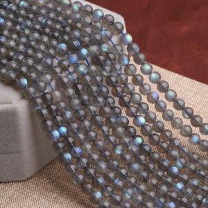 画像1: ブルームーンストーン 月光石 高品質 4mm〜12mm パワーストーン