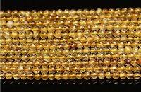 ルチルクォーツ ゴールデンルチル 高品質 4mm〜14mm パワーストーン 天然石 卸