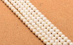画像4: 人工白珊瑚 ホワイトコーラル 一連売り 4mm〜10mm 丸玉 激安卸