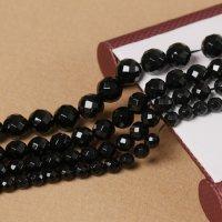 ブラックオニキス 64面カット 4mm〜12mm 天然石 卸売